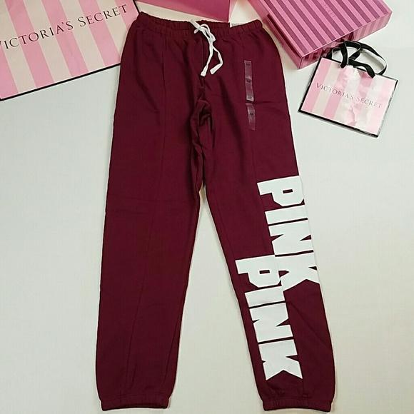 PINK Victoria's Secret Pants - PINK Victoria's Secret Jogger pants sweatpants NWT